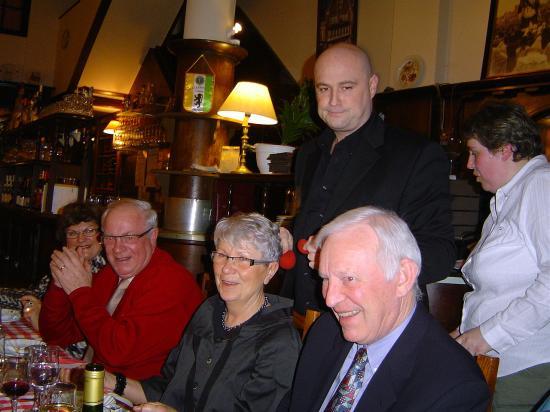Repas à La Taverne Flamande 2010