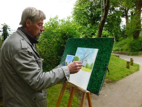 Les peintres dans la rue-  année 2014