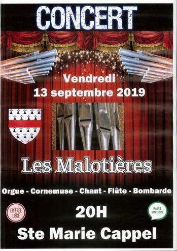 Concert 13 septembre